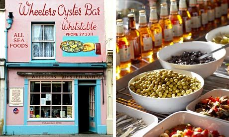 Tony Naylor chooses 10 restaurants, cafes and pubs in Whitstable, Herne Bay, Margate and Ramsgate that do the job for under £10 a head.  We went to most of these and loved them all.  Went here Nov 2014.