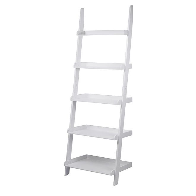 5 Shelves Ladder Bookcase | RONA