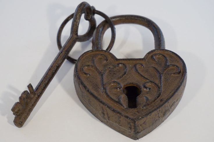 Heart Lock and Love Key