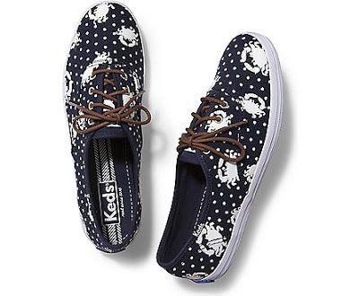 Nautical Keds tennis shoes