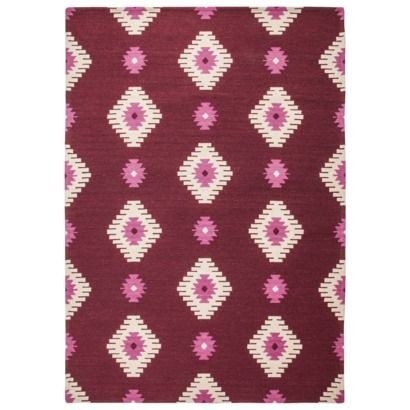 This is one of my favorites for the price. Mudhut™ Aztec Area Rug - Red 7x10 $125