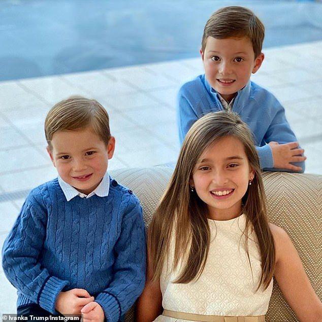 Arabella Rose Kushner-Christmas 2020 Ivanka Trump shares snap of her three children on Thanksgiving in