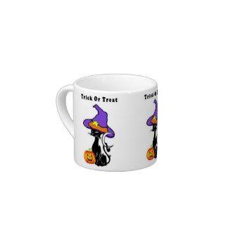 Halloween Trick or Treat Espresso Cups