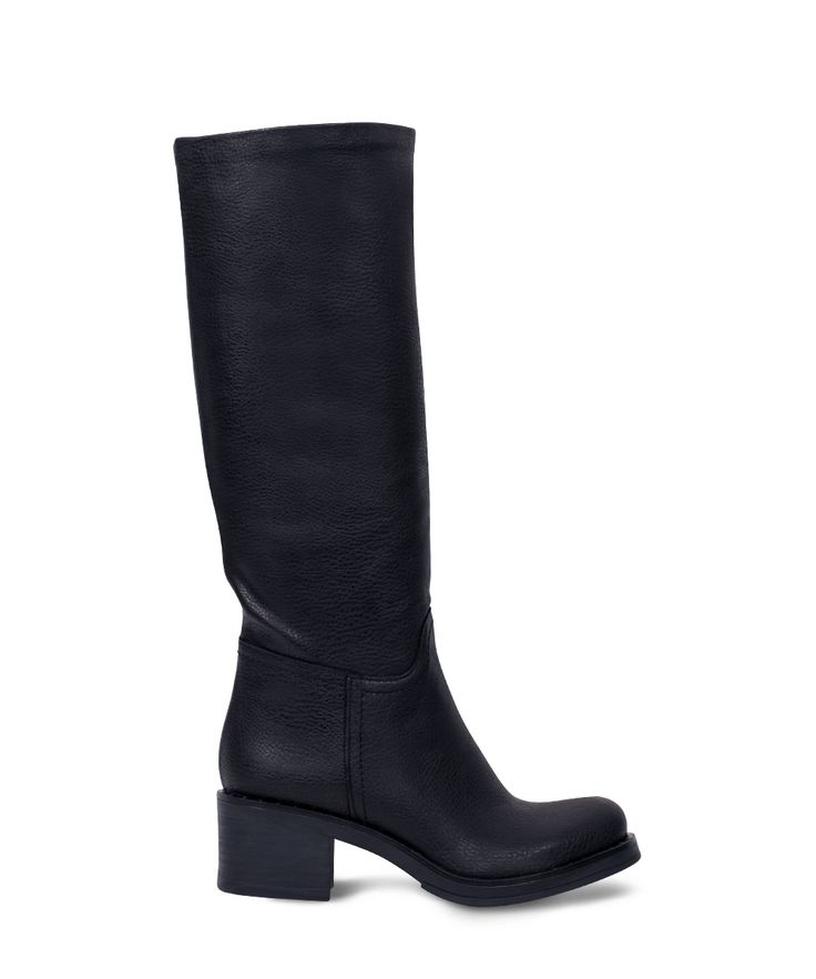CARAD low heeled boot as kind of riding... Black