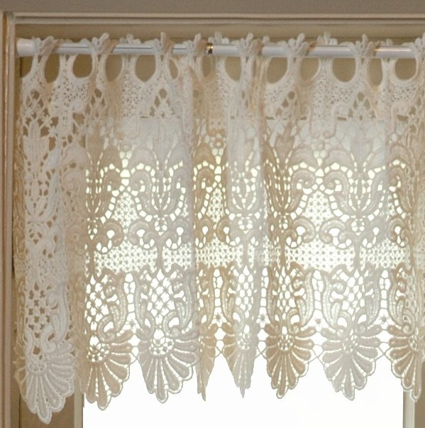 33 best Window treatments images on Pinterest | Cortinas crochet ...