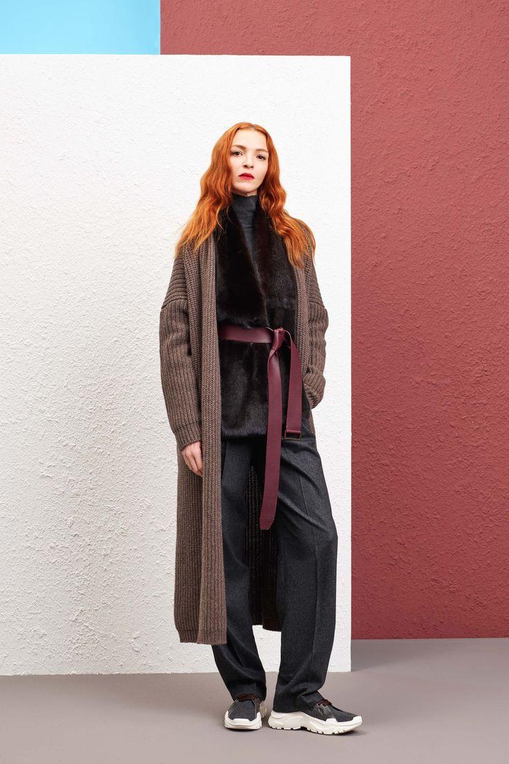 Agnona Pre-Fall 2019 Fashion Show in 2019 | Autumn fashion ...