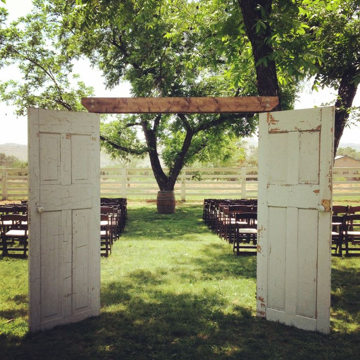 Antique french door aisle entrance; ceremony backdrop. #primrentals #vintage #wedding & 177 best Wedding - Doors Shutters u0026 Windows images on Pinterest ...