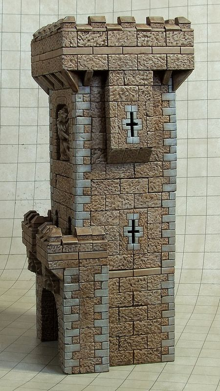 Castle Dice Tower Left | Vail Marston | Flickr