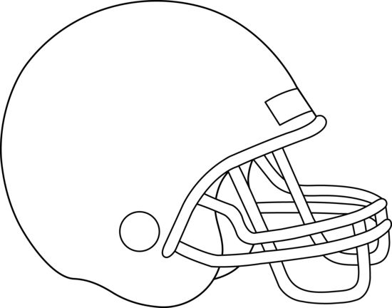 printable football helmets to color