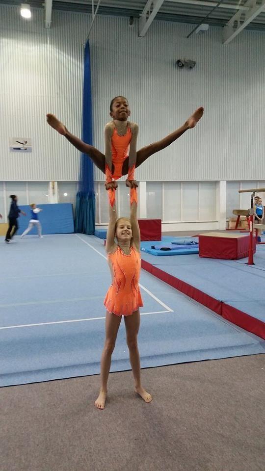 17 Best Images About Acro Gymnastics On Pinterest