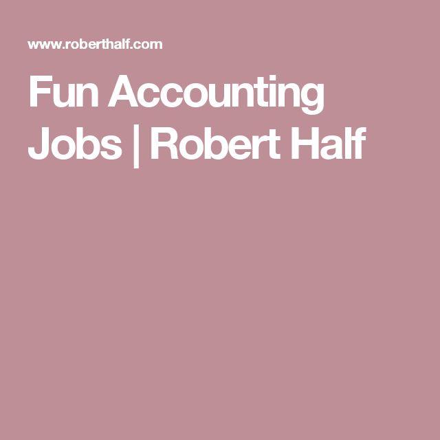 Fun Accounting Jobs | Robert Half