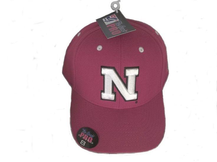 Nebraska Cornhuskers G CAP HAT HUSKERS The Game Pro RED Fitted size: 8  #TheGamePro #Nebraska