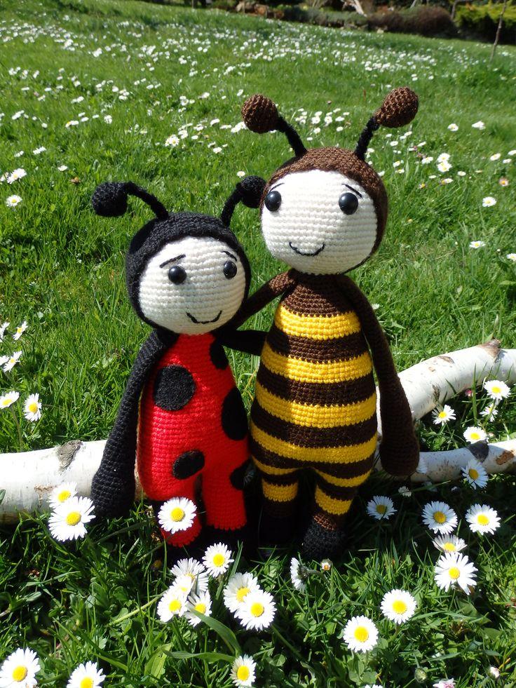 beruška a včelka