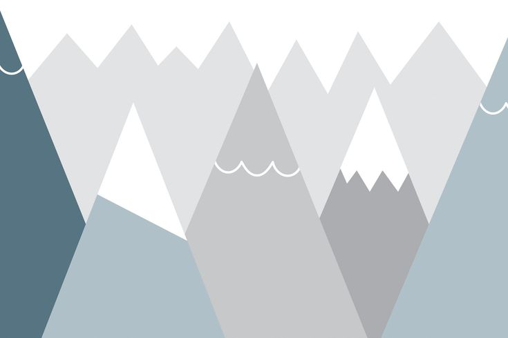Keeping your home modern and stylish doesn't have to end when it comes to your child's bedroom. Our exclusive Kids Blue and Gray Mountains Wall Mural is a cool, minimal design featuring triangle cartoon mountains in saturated teal, blue and gray colors against a soft gray mountain range backdrop. This fresh mural will make a room of any...  Read more »