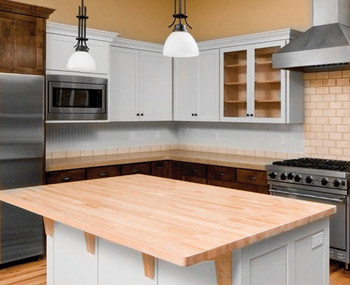 Butcher Block Top 36 Wide X 72 Long At Menards For The Home Pinterest A Well Trips And An