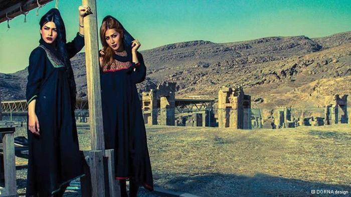 عکس لباس هخامنشیان الهام بخش مدهای دختران