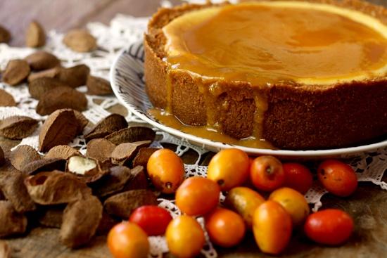 Brazil Nut  Siriguela Cheesecake / Cheesecake de Castanha-do-brasil e Siriguela
