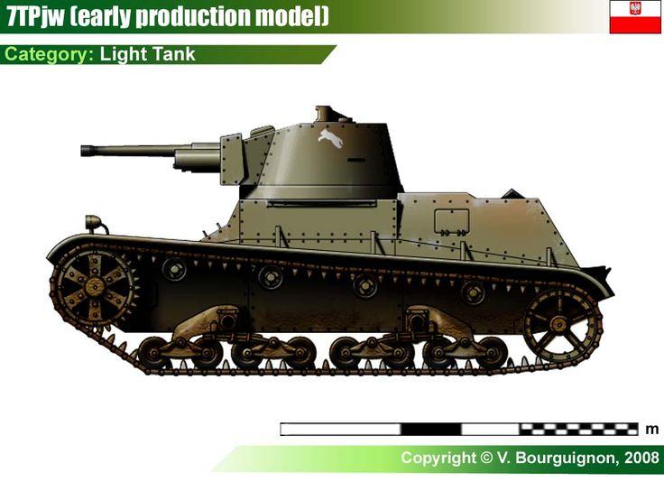 Light Tank 7TP jw (early)