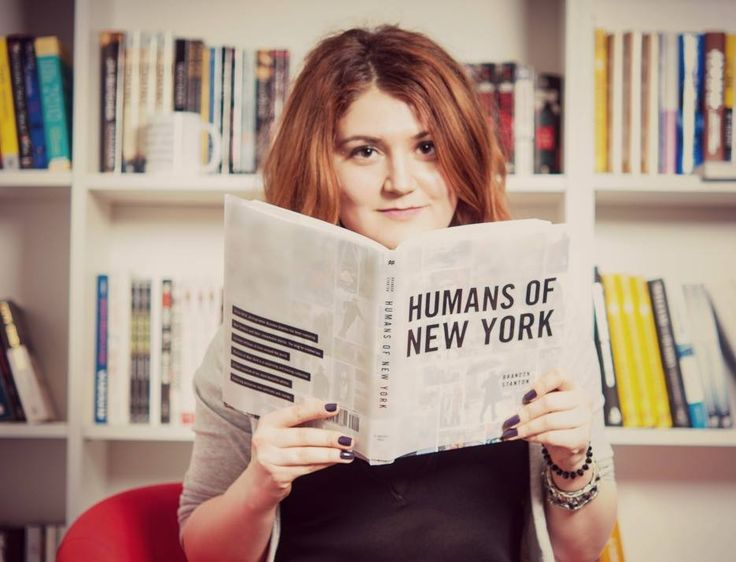 Oana și @Humans of New York