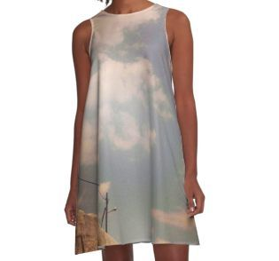 out1 A-Line Dress by gasponce @redbubble