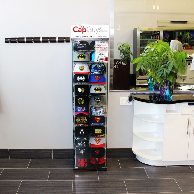 The Cap Guys - Retail Kiosk is the perfect companion for your barbershop or salon -- allowing you to generate additional income! Contact us for details! Get it now! https://buff.ly/2hexzkE?utm_content=bufferc00d3&utm_medium=social&utm_source=pinterest.com&utm_campaign=buffer #thecapguys #retailkiosks. #retail #kiosks #barbershop #salon #movie #videogame #comics #comicbook #logo #snapback #hat #cap ##black #fashion #swag #me #style #tagsforlikes #me