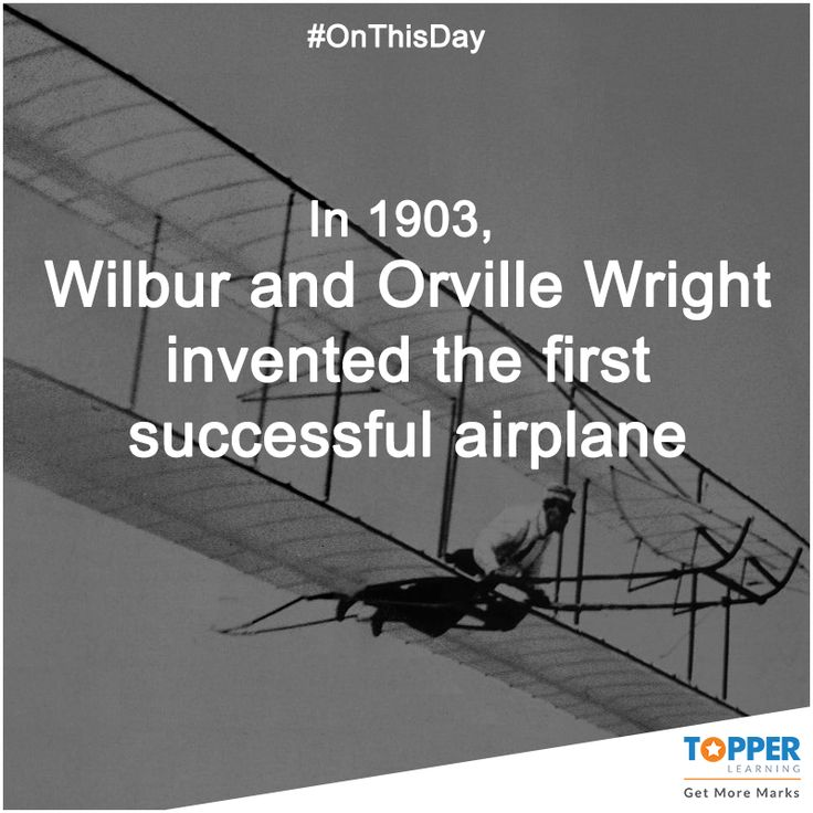 an overview of the airplane invention by wilbur and orville wright The unlikely inventors and a new edition of the bishop's boys: a life of wilbur and orville wright and the airplane's an invention that has shaped.