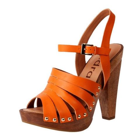 Gorgeous tropical orange crush colour - perfect for summer dresses and jeans  www.theshoelink.com.au
