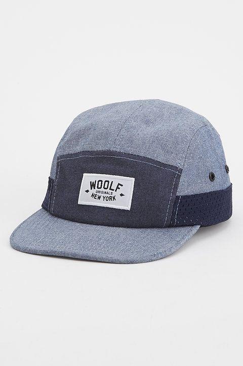 Blocked Mesh Hat - Woolf - Hats : JackThreads