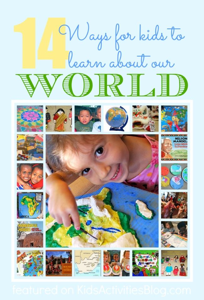 {LOTS} of activities to help kids learn about the world and other cultures.