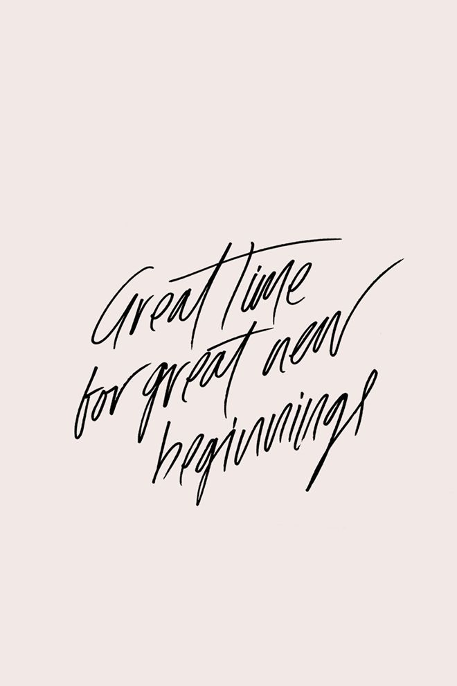 Great time for great new beginnings. Tap to see New Beginning Quotes to Inspire a Fresh Start In New Year! Inspirational and motivational new year quotes - @mobile9