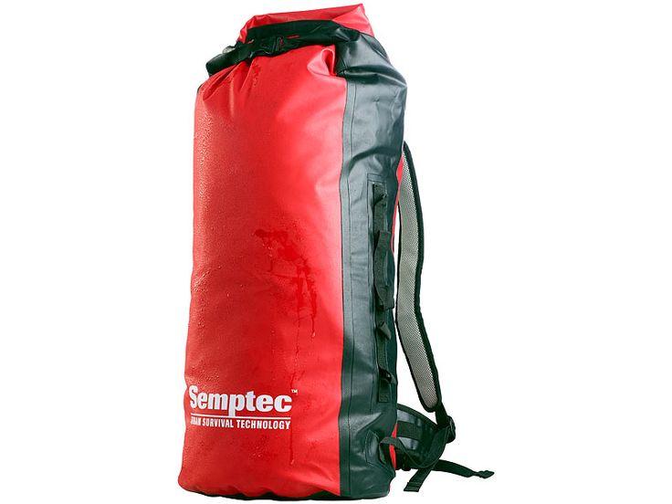 Semptec Wasserdichter Trekking-Rucksack aus LKW-Plane, 70L Semptec Urban Survival Technology Rucksäcke aus LKW-Plane