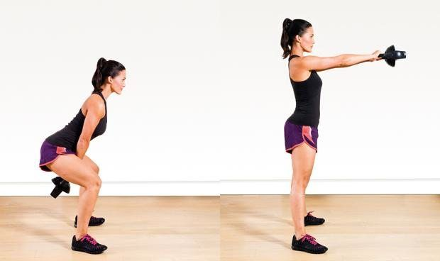 If you want to slim down your body and tone yourmuscles faster, start using kettlebells. Not only will you generate more power, build more lean muscle, and spike your metabolism, but you'll also improve your balance and stability. Because of its shape, you can push, pull, and swing the kettlebell like nothing else and unlock …
