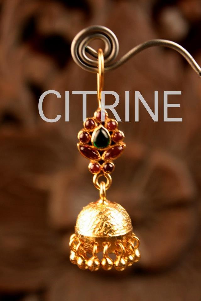 CITRINE Myrah Earrings Collection