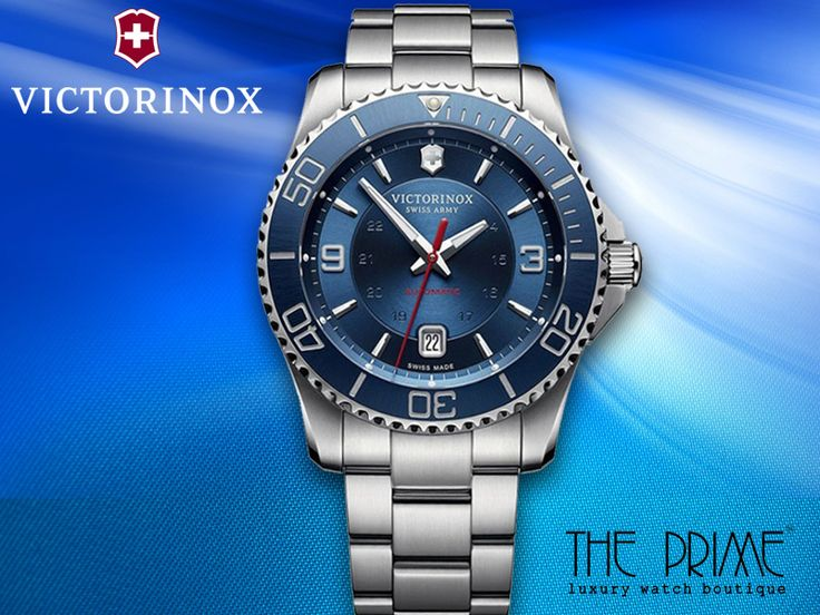Be Fashion Forward with #VictorinoxWatches #FashionWatches #ThePrimeWatches Visit: https://www.theprimewatches.com/victorinox-maverick-249220.html