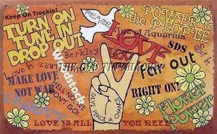 Hippie house wall decor