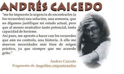 """Documental Andres Caicedo """"Unos Buenos pocos Amigos"""" http://www.youtube.com/watch?v=KNIZvgOBgVc"""