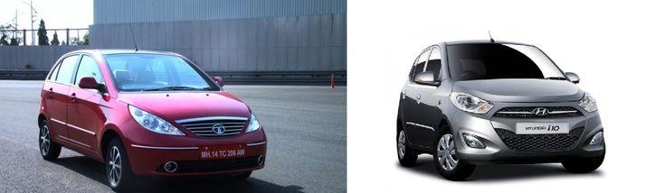 Tata Indica Vista Vs Hyundai i10 - Expert Comparison