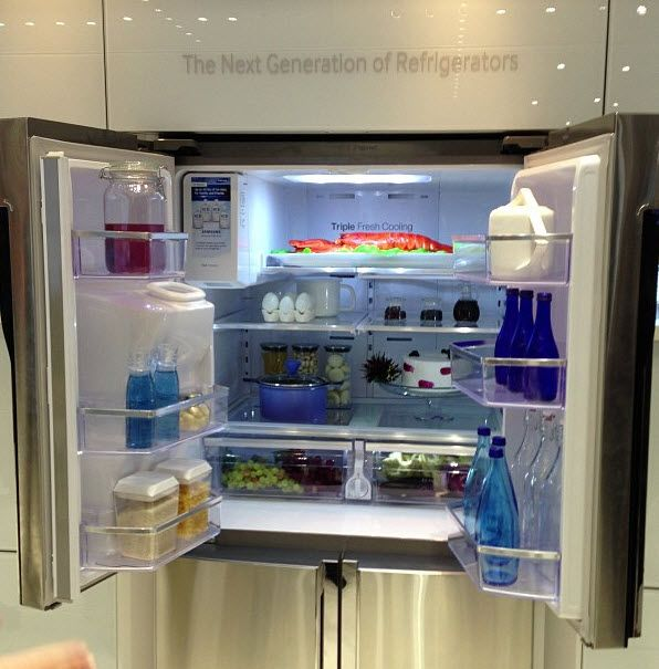 Awesome Apartment Refrigerator With Ice Maker Gallery - Liltigertoo ...