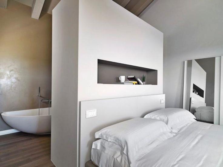 17 migliori immagini su camera su pinterest stanze da letto matrimoniali interni di casa di - Camera da letto con cabina armadio e bagno ...