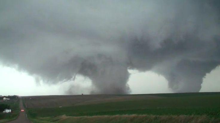 Double Tornadoes Sweep Across Eastern Nebraska - NBC News
