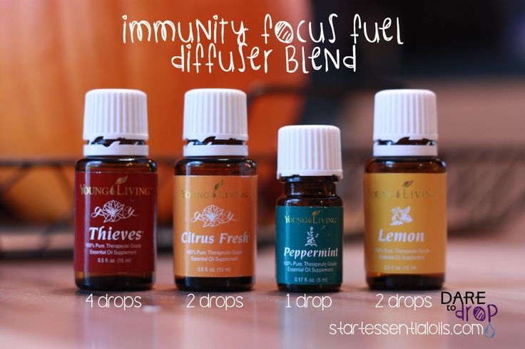 Autumn Diffuser Blends: Immunity Focus Fuel | Dare to Drop - Essential Oils #diffuser #youngliving #essentialoils