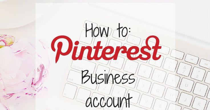 Πώς να μετατρέψετε το λογαριασμό σας στο Pinterest σε επιχειρηματικό (business account) - Guest Post http://ift.tt/2csibwU