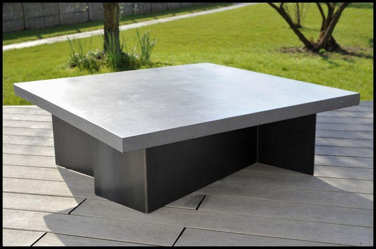 Table Basse Beton Cire Maison Du Monde