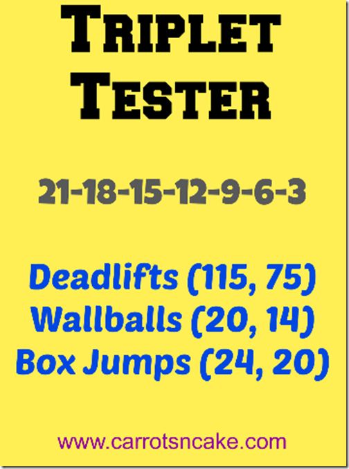 21-18-15-12-9-6-3: DLs (115/75), WBs (20/14), Box Jumps (24, 20)