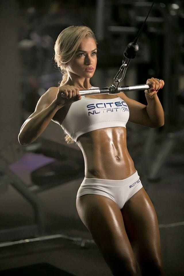 Nude fitness babes