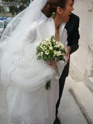 http://www.lemienozze.it/gallerie/foto-bouquet-sposa/img11041.html Piccolo bouquet sposa in stile primaverile