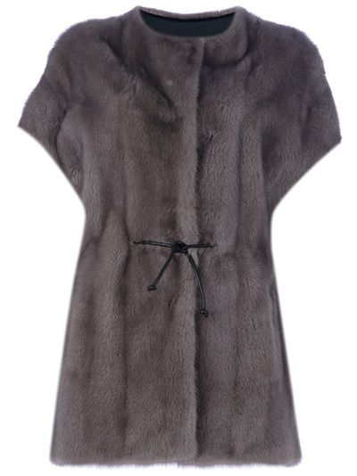 YVES SALOMON - mink fur jacket