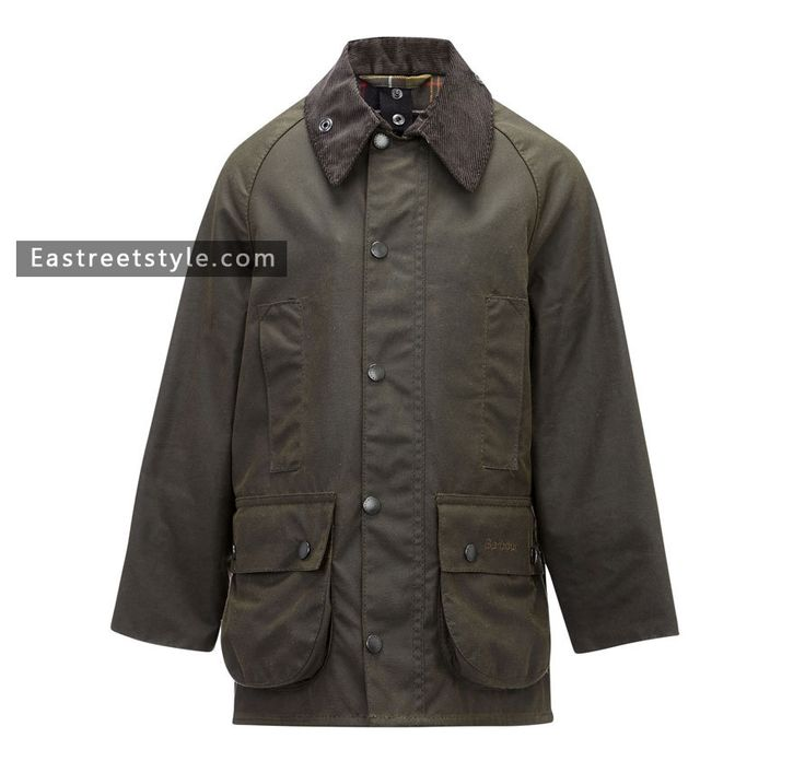 Barbour Boy's Classic Beaufort Waxed Jacket at www.eastreetstyle.com #Barbour Jackets Sale