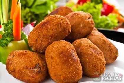 Receita de Bolinho de carne à milanesa - Comida e Receitas