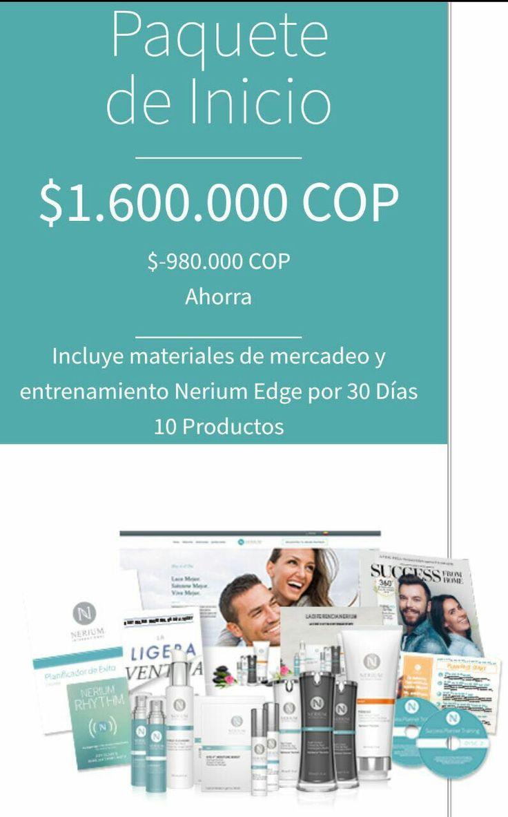 Nuevos paquetes para inscripciones como socios Brand Partners (Representantes de Marca) en Colombia. Puedes registrarte en: monicaespejo.nerium.com
